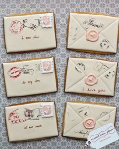 Wouldn't it be wonderful to make Love Letter Cookies?