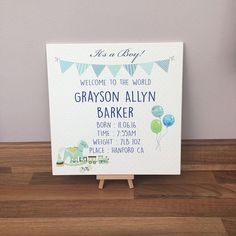 Graysons giveaways for christening