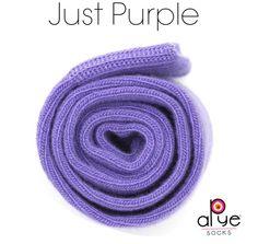 purple socks