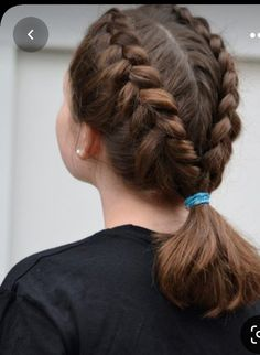 Hairstyles For School, Stylish Hairstyles, Easy Hairstyles, Girl Hairstyles, Hair Goals, Little Girls, Styling Tips, Dreadlocks, Kid