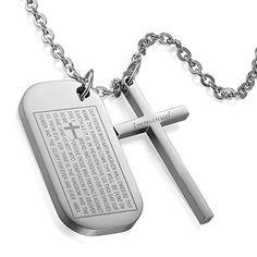 Flongo Edelstahl Anhänger Halskette Silber Dog Tag Kruzif... https://www.amazon.de/dp/B07113Z7ZC/ref=cm_sw_r_pi_dp_x_f3MhzbZZRY0ZA