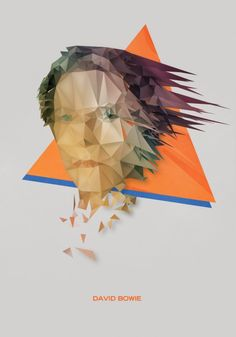 David Bowie vector by Nicola Felaco