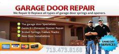 We offer the full range of new or replacement garage doors and garage door openers to meet your needs.