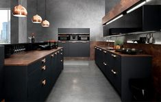 Black and copper kitchen ideas - modern, extravagant and bold designs