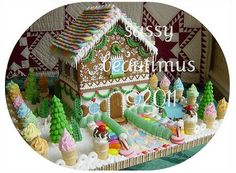 Gorgeous Gingerbread Houses - inspiration