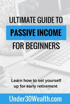 Use this ultimate guide to learn about the different types of passive income as well as what passive income is. Once you understand this concept you can begin building your passive income streams to help you reach early retirement and never worry about money again. Topics: Bonds, Stocks, Real Estate, Websites, Online Business