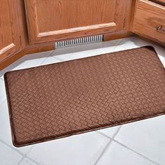 I love my Gel Pro Gel Kitchen Mat. It was pricey but so worth it when you are cooking all day! Cooking Gadgets, Kitchen Gadgets, Baltimore House, Kitchen Storage, Kitchen Mats, Space Saving Storage, Create Space, Floor Mats, Homemaking