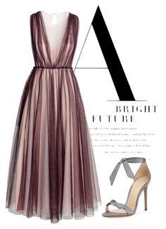 """tulle dress"" by basia-kowalska on Polyvore featuring moda, H&M i Alexandre Birman"