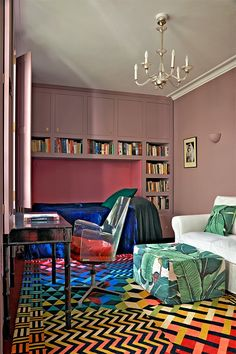 Cool Chic Style Fashion: Decor Inspiration   Londres: la maison de la créatrice de bijoux Solange Azagury-Partridge