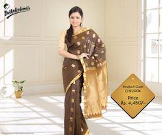 Wear this traditional #SilkSaree and look elegant.. #Sari #DesignerSaree #Designer    Visit @ http://www.jailakshmisarees.com/sarees.html
