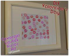 Covergirl colorlicious lipstick, DIY Valentine's Day last minute gift idea, Homemade Valentines Craft, P&Gmom, PGmom, Covergirl Lipstick Craft.