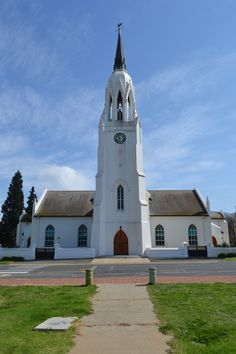NG Kerk Worcester Church Building, Old Buildings, African History, Worship, South Africa, Country, World, Iglesias, Worcester