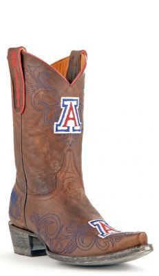 Day 4 of #12DaysofAZGear; Men's & Women's Arizona Boots!