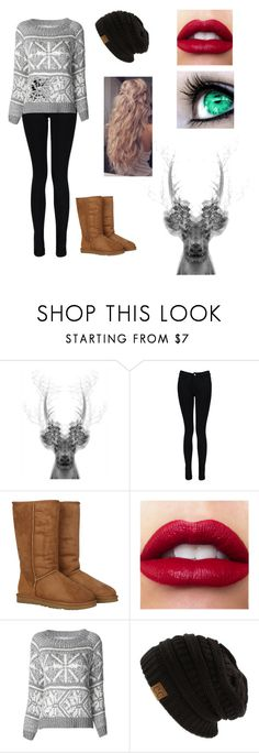 """""""Clothes"""" by rikkialyssacloud ❤ liked on Polyvore featuring Boohoo, UGG Australia and Alice + Olivia"""