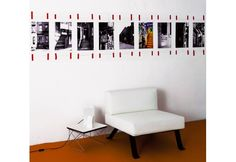 Yet another photo gallery, pinned with red adhesive tape