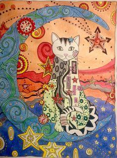 Cat by Kenia Carvalho