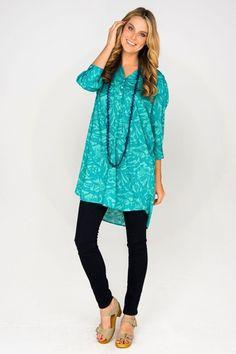 Firefly kaftans Karo Dress - Womens Short Dresses - Birdsnest Online Fashion