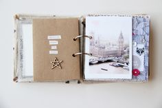 London mini book by lory at @studio_calico
