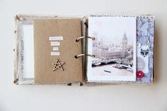 London mini book by lory at @studio_calico