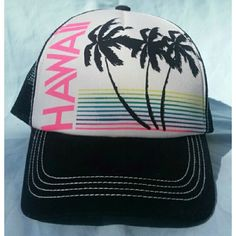 691bb84172137 Billabong Hawaii Trucker Hat This snapback is in perfect condition and has  never been worn.