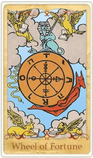 Our journey with the #DailyTarot brings us on another journey with one of our friends who has asked a question during Reader's Appreciation Month. Her question? Will my good luck disappear or will it stay the same. Up came the Wheel of Fortune. Twice in fact. What do you think? Our friend deserves the miracles and blessings that are coming to her, this card is about reaping your karmic rewards. Do enjoy!