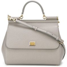 Dolce & Gabbana large 'Sicily' tote (2,240 CAD) ❤ liked on Polyvore featuring bags, handbags, tote bags, grey, leopard print tote, gray tote, leopard handbag, grey handbags and leopard tote