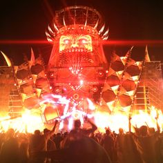 Q~Dance Stage at Electric Daisy Carnival Las Vegas 2012