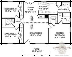 The Lafayette is one of the many log cabin home plans from