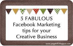 5 facebook marketing tips