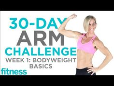 Arm Challenge: Bodyweight Basics   Fitness - YouTube
