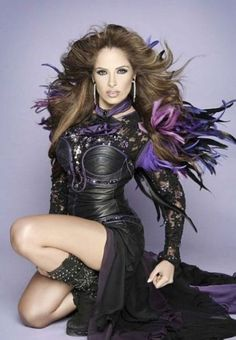 Mexican pop-rock singer-songwriter, Gloria Trevi