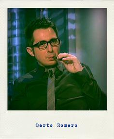 Berto Romero vapejant