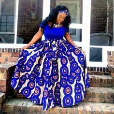 Latest African Print Dresses Stylish And Trendy Latest Ankara Styles 2018 African Fashion Designers, Latest African Fashion Dresses, African Dresses For Women, African Print Dresses, African Print Fashion, African Attire, African Wear, African Women, African Prints