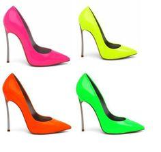Zapatos de mujer - Womens Shoes - Neon Heels
