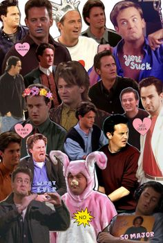 chandler collage tumblr - Google Search