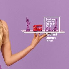 PANTONE Color of the Year 2014 - Radiant Orchid NY Fashion Week