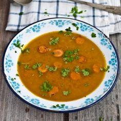 Carrot honey soup (in Czech)