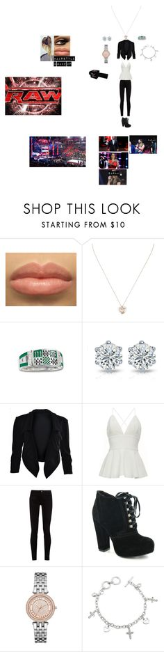 """""""Monday Night RAW (Sarah Breaks Her Silence over Payback)"""" by wwetnagirl ❤ liked on Polyvore featuring Tiffany & Co., Gucci, Michael Kors, WWE and Monday"""