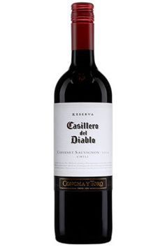 Concha y Toro Casillero del Diablo Cabernet-Sauvignon Cabernet Sauvignon, Chili, Red Wine, Alcoholic Drinks, Bottle, Obstacles, Cuba, Beef, Halloween