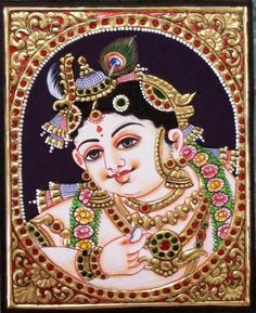 Tanjore Paintings - a quick overview of the art form