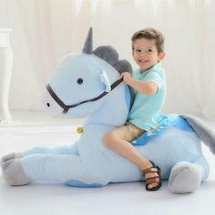 Giant Plush Unicorn (pink or blue)