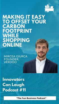 In this episode of Innovators Can Laugh, I sat down with Mircea Giurca, founder of Verdoo. At 22 he was on top of the world, but then hit rock bottom. Now after a few projects like creating a dating app, his latest venture is cracking the future of Sustainable Shopping and making it possible to protect the planet while consumers shop online. Rock Bottom, Top Of The World, Carbon Footprint, Get The Job, Growing Up, Things To Think About, Innovation, Interview, Shit Happens