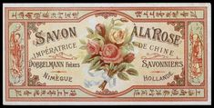 Belle Epoque Art Nouveau - Former advertising and packaging soaps and cosmetics. Part Three