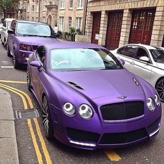I don't even like the color purple but this is my favorite car and it's nice