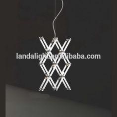 Modern Simple Iron Chrome Pendant Lamp