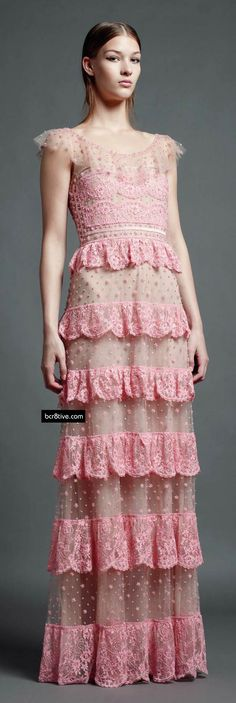 Valentino Pre Spring 2013-- I'd love to see my granddaughters in this when they are old enough....timeless!
