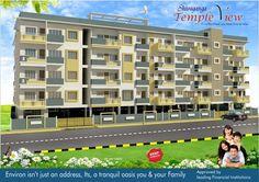 SHIVAGANGA TEMPLE VIEW  Residential project in South Bangalore 2 & 3 BHK APARTMENT in Off Kanakapura Main Road opp. Krishnalila park(ISKCON Temple).