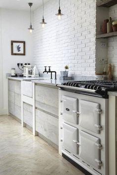 oak draws | kitchen Aga fornuis Dual Control - elektrisch #fornuis