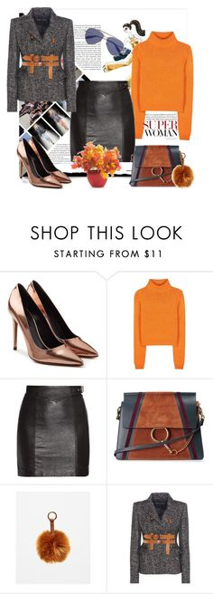 """""""Super woman"""" by amaiba ❤ liked on Polyvore featuring Alexander Wang, Acne Studios, Yves Saint Laurent, Chloé, Tom Ford and Alexander McQueen"""