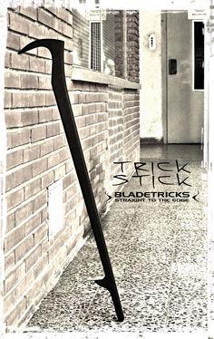 Bladetricks Trick Stick Custom walking cane